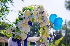 De decoratie van het huwelijk Royalty-vrije Stock Afbeeldingen