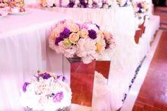 De decoratie van het huwelijk Stock Afbeeldingen