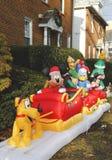 De decoratie van het Kerstmishuis Stock Foto's