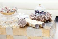 De decoratie van het Kerstmishuis Stock Foto