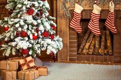 De decoratie van het Kerstmishuis Royalty-vrije Stock Afbeeldingen