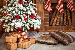 De decoratie van het Kerstmishuis Royalty-vrije Stock Fotografie