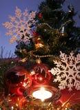 De decoratie van het nieuwe jaar Royalty-vrije Stock Foto's