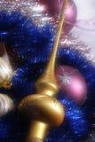 De decoratie van het nieuwe jaar Stock Foto