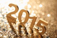 De Decoratie van het nieuwjaar Stock Foto's