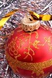 De decoratie van het nieuwjaar en van Kerstmis Royalty-vrije Stock Foto's