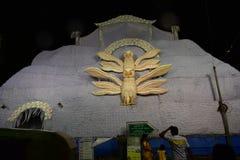De decoratie van de holheuvel Stock Foto