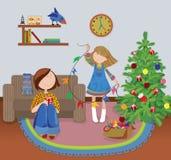 De decoratie van Kerstmis. Royalty-vrije Stock Fotografie