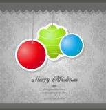 De decoratie van Kerstmis. Stock Foto