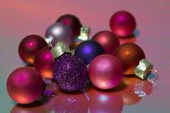 De decoratie van Kerstmis Stock Afbeeldingen