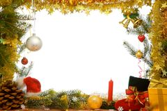 De decoratie van Kerstmis. stock afbeeldingen