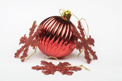 De decoratie van Kerstmis Stock Afbeelding
