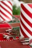 De decoratie van Kerstmis. Stock Afbeelding