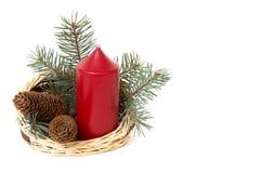 De decoratie van Kerstmis. Royalty-vrije Stock Afbeeldingen