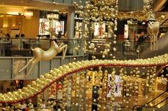 De Decoratie van Kerstmis bij de Weg van de Boomgaard van Singapore Royalty-vrije Stock Fotografie