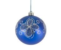 De decoratie van Kerstmis die op wit wordt geïsoleerde Royalty-vrije Stock Foto