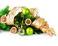 De Decoratie van Kerstmis en van het Nieuwjaar Royalty-vrije Stock Foto's