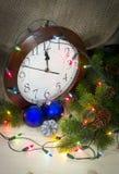 De decoratie van Kerstmis en van het Nieuwjaar Royalty-vrije Stock Fotografie
