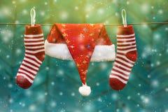 De decoratie van Kerstmis Het concept van de Kerstmisvakantie royalty-vrije stock foto