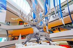 De decoratie van Kerstmis in ifc Hongkong Stock Foto's