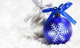 De decoratie van Kerstmis Nieuw jaar Stock Foto