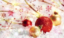 De decoratie van Kerstmis Nieuw jaar Royalty-vrije Stock Fotografie