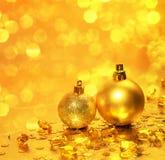 De decoratie van Kerstmis Nieuw jaar Stock Foto's