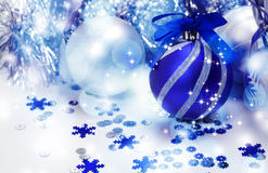 De decoratie van Kerstmis Nieuw jaar Royalty-vrije Stock Foto's