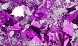 De decoratie van Kerstmis op blauw Royalty-vrije Stock Foto