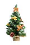 De decoratie van Kerstmis op witte achtergrond royalty-vrije stock fotografie