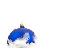 De decoratie van Kerstmis over witte achtergrond Stock Foto