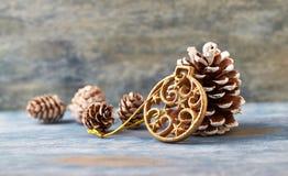 De decoratie van Kerstmis De tijd van Kerstmis stock foto