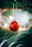 De decoratie van Kerstmis Vrolijke Kerstmis en Gelukkig Nieuwjaar royalty-vrije stock fotografie