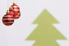 De decoratie van Kerstmisballen Royalty-vrije Stock Afbeeldingen