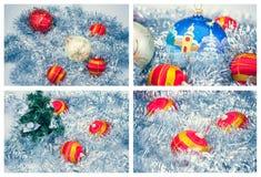 De decoratie van Kerstmisballen Royalty-vrije Stock Afbeelding