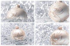 De decoratie van Kerstmisballen Stock Foto