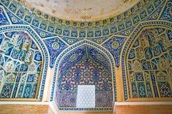 De decoratie van mausoleum Royalty-vrije Stock Foto's