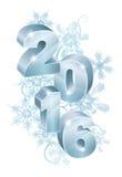 2016 de Decoratie van nieuwjaarkerstmis Royalty-vrije Stock Afbeelding