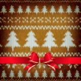 De decoratie van nieuwjaarkerstmis Eps 10 Stock Afbeeldingen