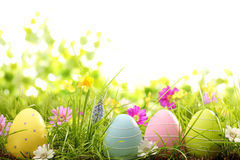 De decoratie van Pasen stock afbeeldingen