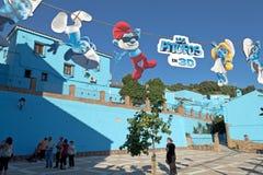 De decoratie van Smurfs Stock Afbeelding