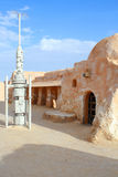De decoratie van Star Wars in de Sahara Stock Afbeelding