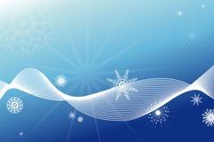 De decoratieachtergrond van de winter stock illustratie