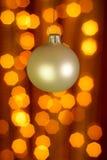 De decoratieachtergrond van Kerstmis Stock Foto
