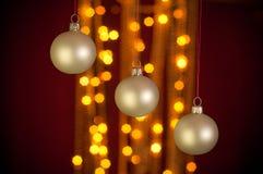 De decoratieachtergrond van Kerstmis Royalty-vrije Stock Foto