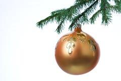 De decoratiebal van Kerstmis Royalty-vrije Stock Foto's
