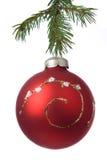 De decoratiebal van Kerstmis Stock Foto's