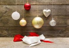 De decoratieballen van Kerstmis Royalty-vrije Stock Fotografie