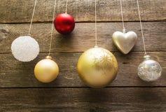 De decoratieballen van Kerstmis Royalty-vrije Stock Foto