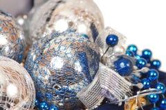 De decoratieclose-up van Kerstmis Royalty-vrije Stock Afbeelding